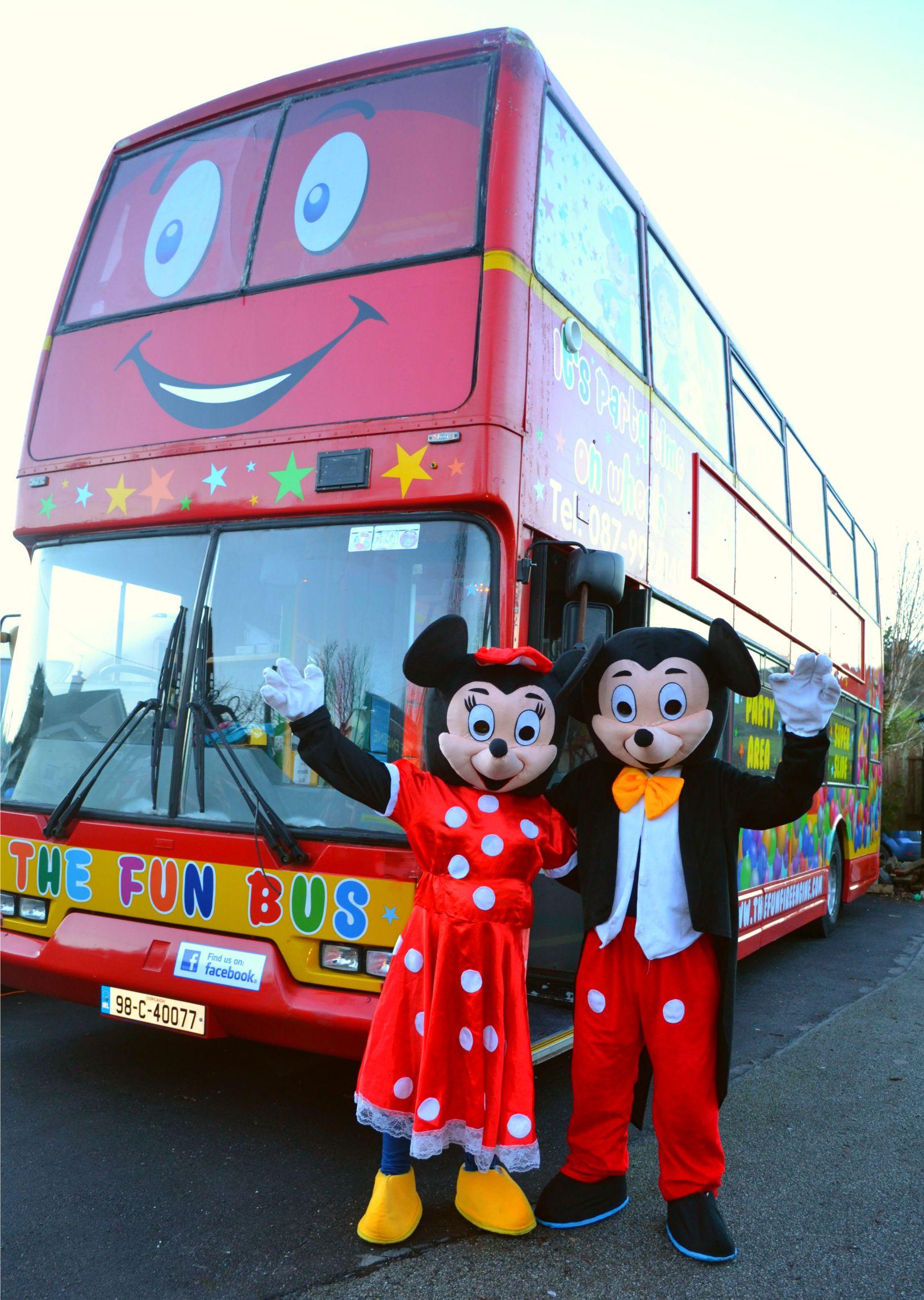 Kids Party Bus Ireland